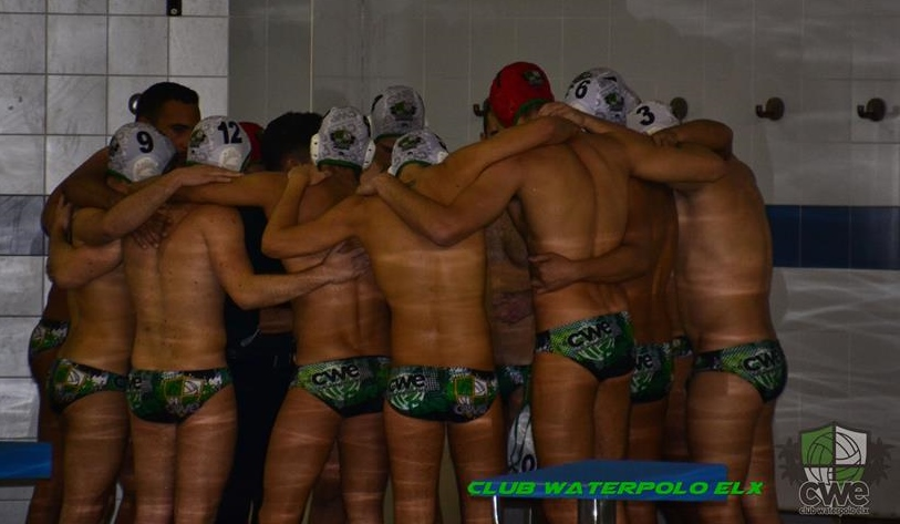 Equipo del Club Waterpolo Elx