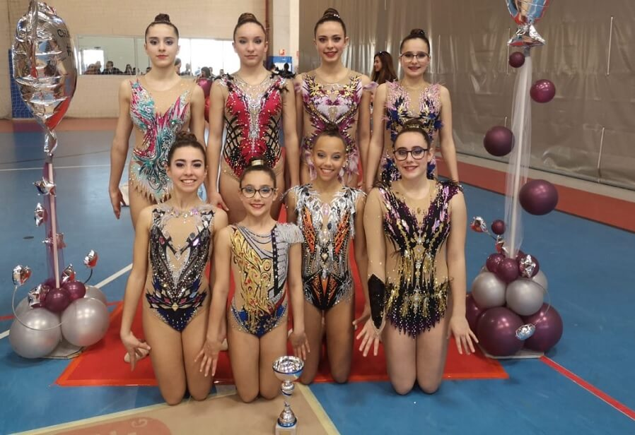 Gimnastas del Club Altellano Elx